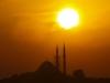 Západ slunce na mešitami...